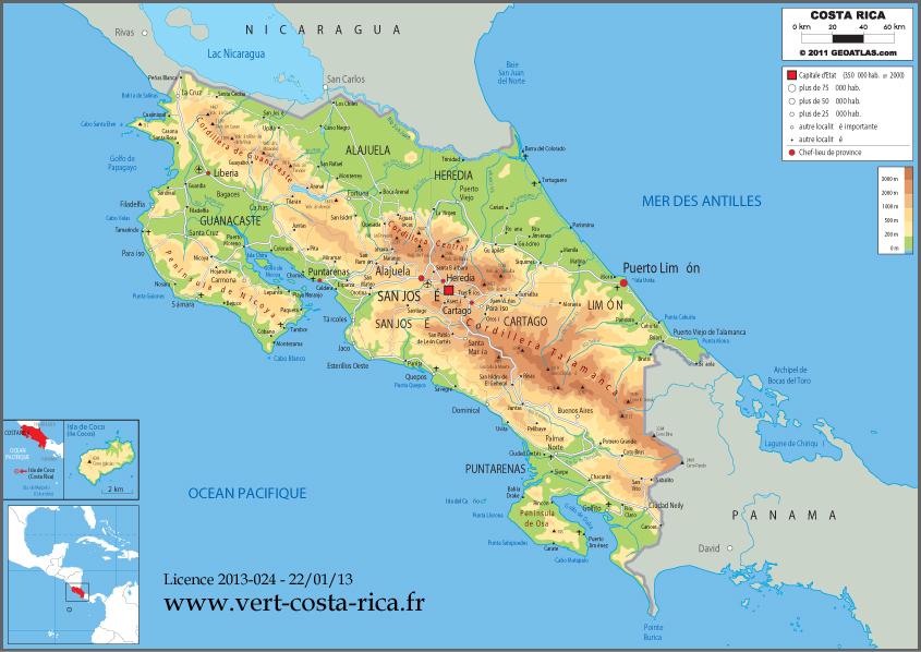 Présentation générale du Costa Rica   La France au Costa Rica